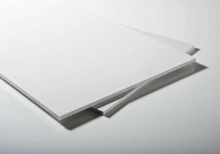 Leichte PVC-Platten
