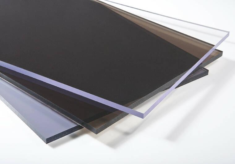 Plný polykarbonát s UV stabilizací