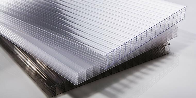 Hohlkammer-Polycarbonatplatten