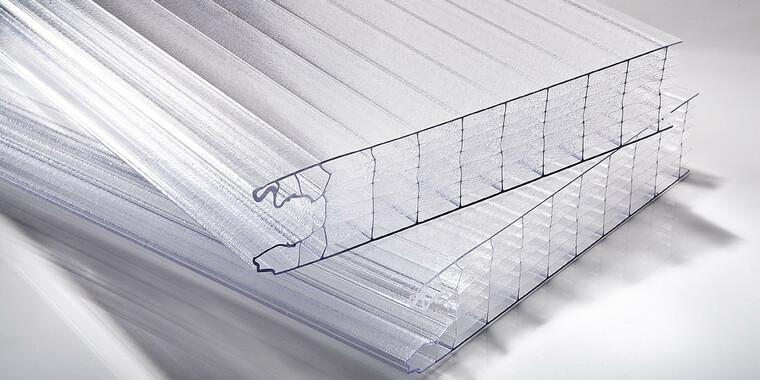 Zámkové polykarbonátové panely