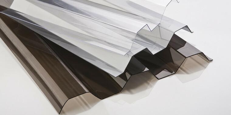 Trapézové polykarbonátové desky