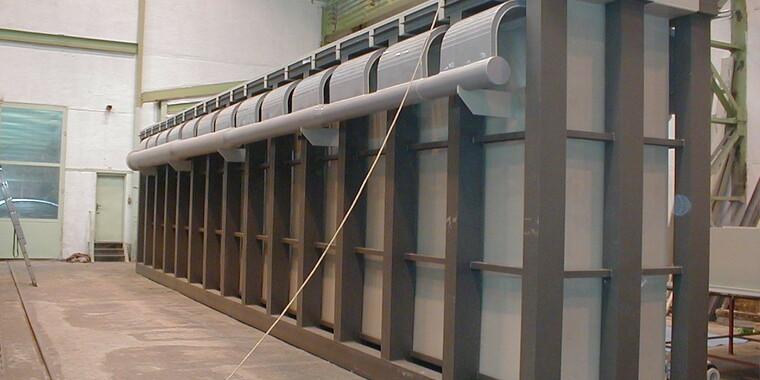 Výroba technologických nádrží