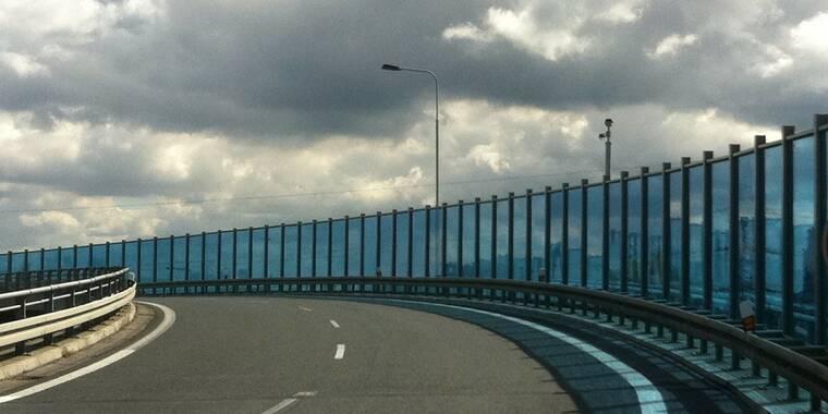 Transparentní protihlukové stěny