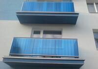 Polykarbonátové desky AKYVER S2F modrý