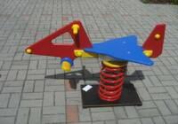 Houpačka z desek Polystone Play-Tec