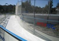 Umělé kluziště - Okopové pásy z materiálu PE 500