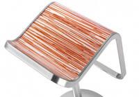 Designový panel – židle, dekor bambus
