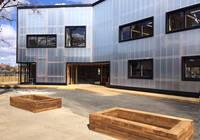 Zámkové polykarbonátové panely - fasáda RODECA