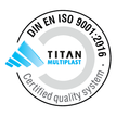 Certified quality system DIN EN ISO 9001 2016